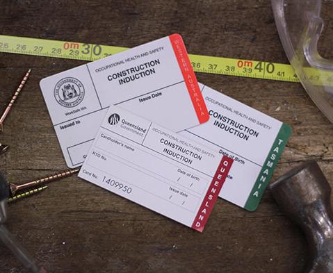 white card construction course
